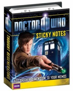 Who Sticky Notes New Mint Dalek Tardis 11th Dr Matt Smith