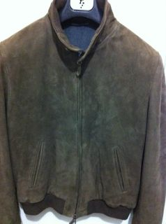 1800 La Matta Gorgeous Goatskin Suede Leather Jacket IT50 40
