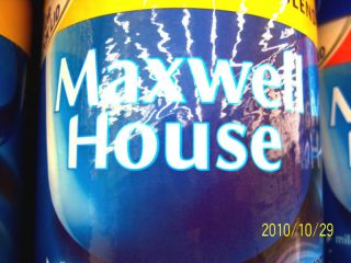 Maxwell House Ground Coffee Big 33oz Can 8 Flavs