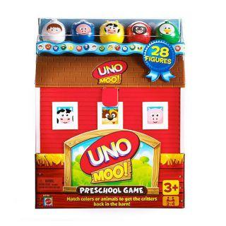 Mattel Uno Preschool Animal Farm Matching Game