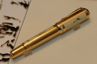 Montblanc Max Reinhardt 2006 Fountain Pen Solid Gold Limited Edition