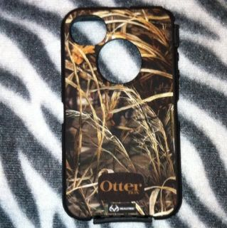 Apple iPhone 4 4S Max 4 Camo Otterbox Defender Outer Skin