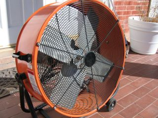 MaxxAir 24 in. Portable Air Circulator Fan Shop Floor Garage Cooling