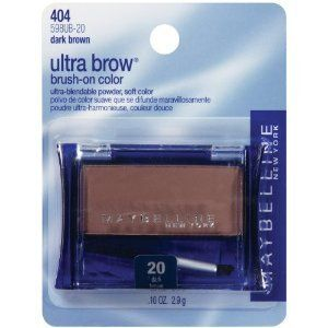 Maybelline Ultra Brow Brush on Color 20 Dark Brown