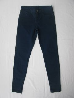 Brand 811 Skinny Leg Mid Rise Luxe Twill Pants Jeans in Nightfall