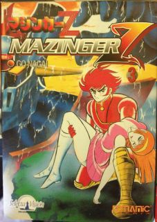 Mazinger Z Libros Books Selecta Vision Manga Go Nagai Mazinger DVD