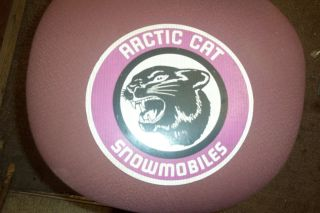 Vintage Genuine Arctic Cat Magnetic Sign 70s Large