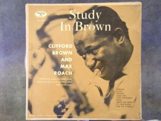 Clifford Brown Max Roach Study in Brown Original Emarcy Pressing