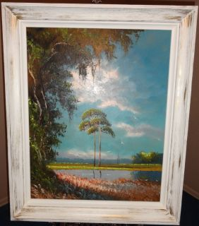 Highwaymen Painting Florida Art Sam Newton 24X30