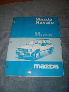 1994 Mazda Navajo Factory Wiring Diagram