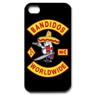 BANDIDOS MC WORLDWIDE Motorcycle Club iPhone 4 4S Hard Case Cover