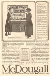1917 Antique McDougall Auto Front Kitchen Cabinet Furniture Aunt Emily