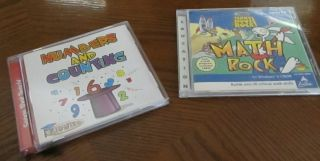 and Counting Music CD School House Rock Math Rock CD ROM