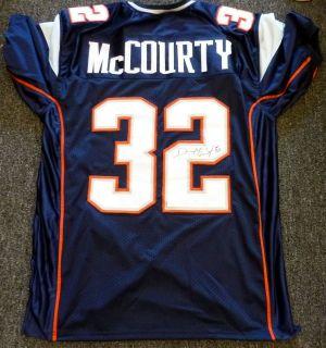 Devin McCourty Autographed New England Patriots Blue Jersey JSA