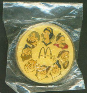 Disney McDonalds Snow White and The Seven Dwarfs