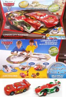 2011 Mattel Tyco Cars Italia 440 X2 Slot Car Race Set