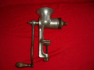Universal Meat Grinder 3 Table Mount w 2 Heads