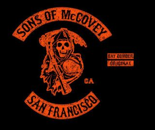 Sons of McCovey San Francisco Willie Giants T Shirt Large L