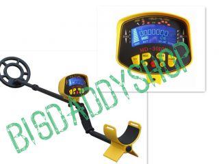 MD 3010II Metal Detector Gold Digger with LCD Displayer Treasure