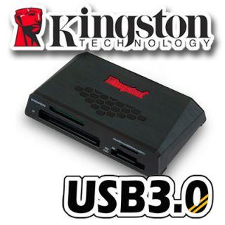 Kingston USB 3 0 Media Card Reader Kartenleser Micro SD SDHC SDXC CF