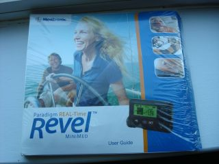 Minimed Medtronic Revel Insulin Pump User Guide Unopened