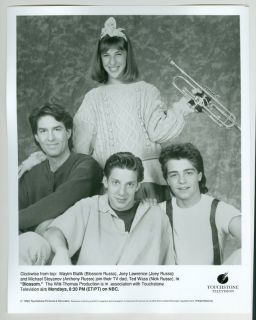BLOSSOM MAYIM BIALIK JOEY LAWRENCE 4 TV PUBLICITY PHOTO STILLS 1990