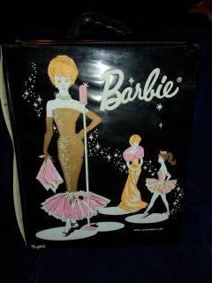 Barbie Doll Carrying Case 1962 Mattel Black Ponytail Version