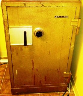 Antique Meilink Safe Heavy Duty Strong Box Bank vault Money valuables