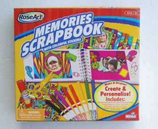 RoseArt Activity Kit Memories Scrapbook by Mega Brands 1719