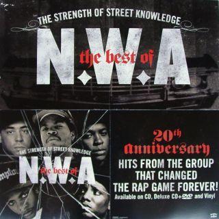 Two Poster N w A Ice Cube Eazy E Dr Dre MC Ren DJ Yella RARE
