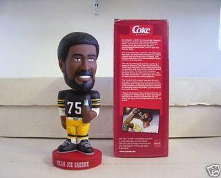 Mean Joe Greene Steelers Bobble Bobblehead Coca Cola