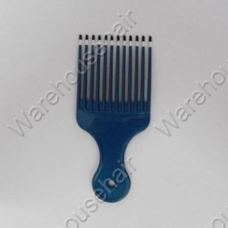 Comb Mebco Afro Comb Large Blue