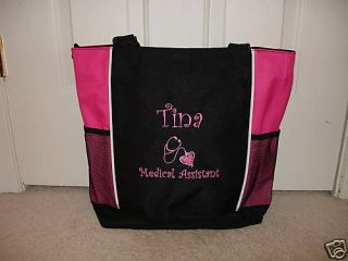Tote Bag Personalized Medical Assistant Aide PT MA ERT