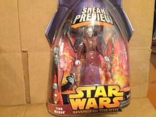 Star Wars Revenge of The Sith Action Figure Tion Medon