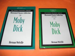 Moby Dick Melville Illustrated Classics Edition with Audio Book w 2