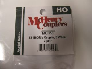 McHenry 53 Couplers Knuckle Spring for IHC Riv 6 Wheel Passenger Cars
