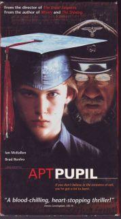 Apt Pupil Bryan Singer Stephen King Ian McKellen NTSC VHS