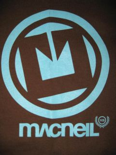 McNeil Logo BMX Bike Freestyle T Shirt New SML Fit $10