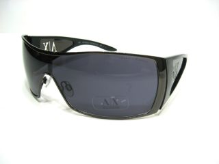ARMANI EXCHANGE AX009 LOGO Mens Womens Sunglasses Black Gunmetal