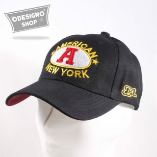 NY ball cap Mens casual hats New York baseball cap Trucker in Black