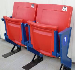 Giants Stadium Seats Endrow Red Meadowlands
