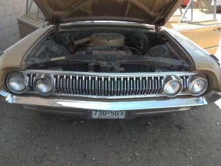 64 Mercury Montclair Monterey Park Lane Marauder Front End Grille