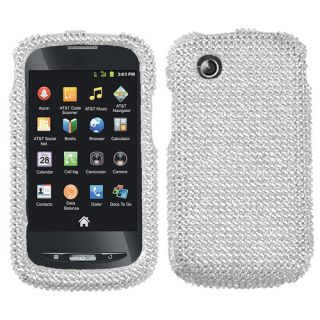 For ZTE Merit Z990G 990G Crystal Diamond Bling Hard Case Phone Cover
