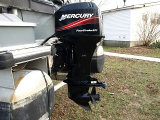 Mercury Outboard 60 EFI Boat Motor 2005