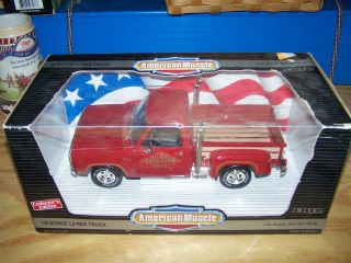 18 Scale Ertl American Muscle 1978 Dodge Lil Red Express Truck
