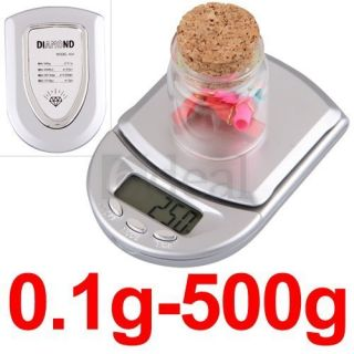 1g LCD Mini Pocket Digital Medical Lab Balance Weight Scale