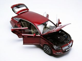 Norev 2012 Mercedes Benz CLS Shooting Brake Red Metallic Dealer Ed 1
