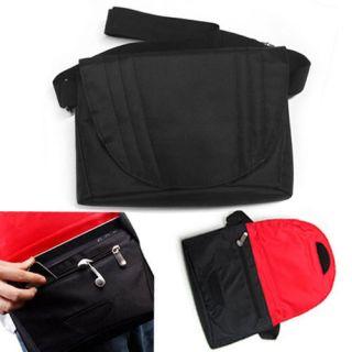 Black Slim Cross Body Messenger Bag Case HP Slate 2 Z670 Tablet 8 9