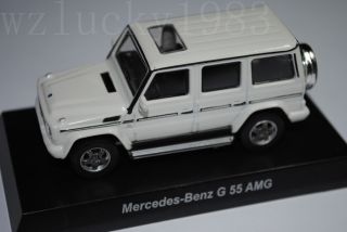 Kyosho 1 64 Mercedes Benz G 55 AMG Model Diecast Color White
