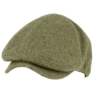 Mens Winter Wool Snap Open Duck Bill Curved Ivy Cabby Driver Hat Cap